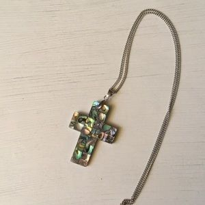 Jewelry - Mosaic Cross Necklace